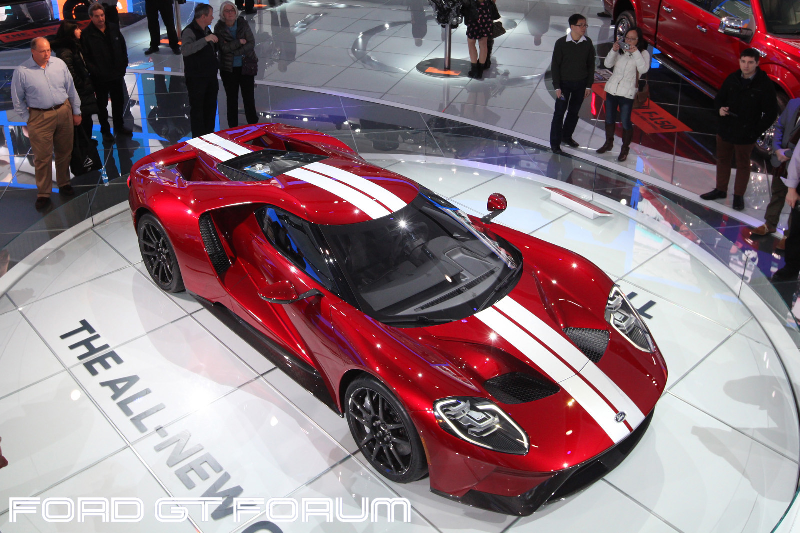 Ford Gt Autoshow