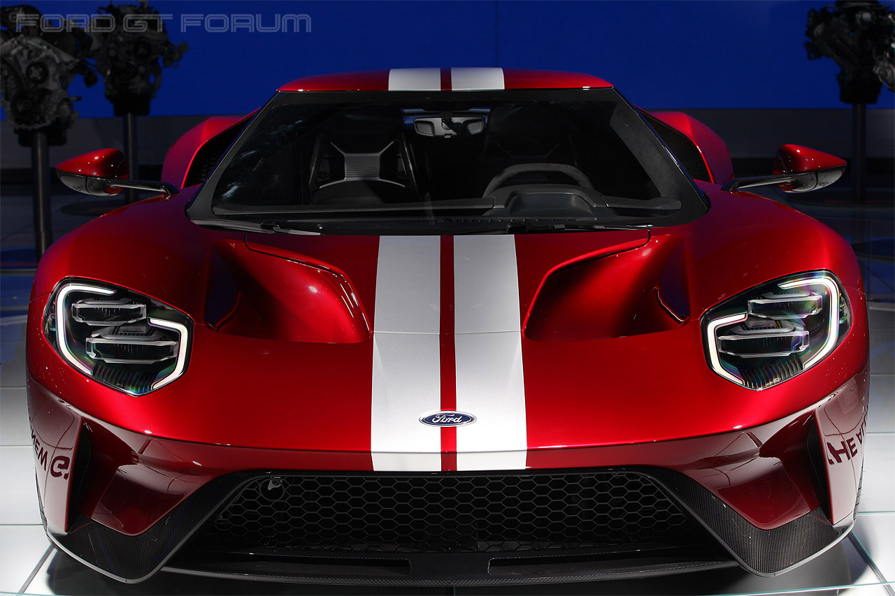 Ford Gt Front View M