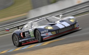 Matech Ford GT at Le Mans in 2010.