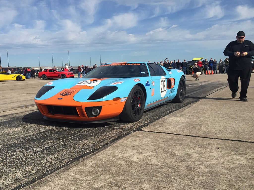 The record setting M2K Motorsports Ford GT