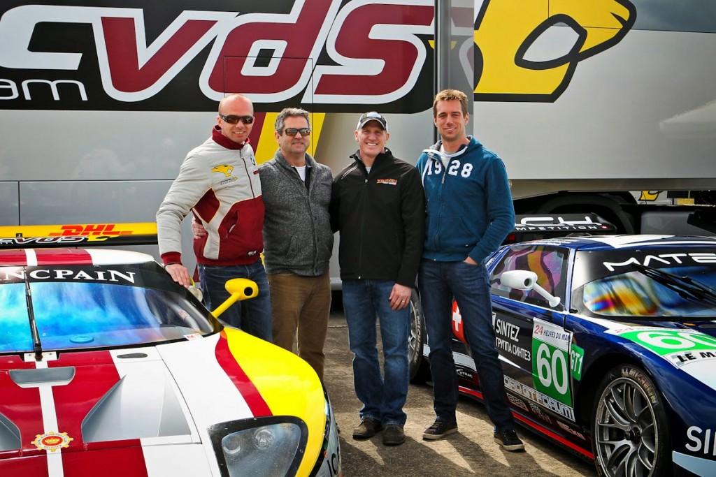 Bas, Greg, Lance & Thomas