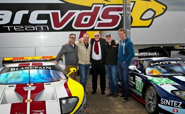 Greg, Steven Nesta, Marc van der Straten, Lance Miller & Thomas Mutsch
