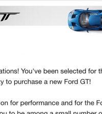 Ford Gt Allocation Statistics News